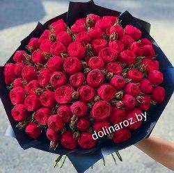 """Букет цветов """"Ред Пиано"""" Кустовые розы"""