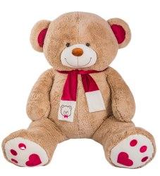 """Медведь """"Кельвин"""" Коричневый (240 см) Сидя 130 см"""