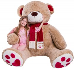 """Медведь """"Кельвин"""" (240 см) Сидя 130 см"""