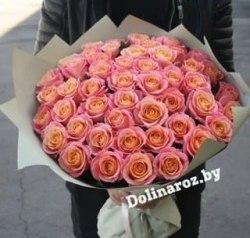"""Букет роз """"Mis Piggi"""" 51 роза"""