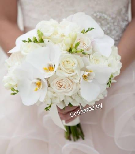 """Букет невесты """"Белая орхидея"""""""