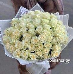 "Букет роз ""Белла"" 51 роза"