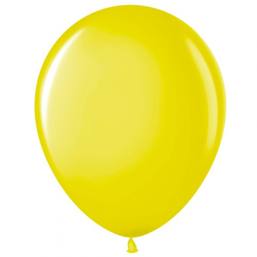 "Латексный шар с гелием ""Желтый"" 12"" (30 см)"