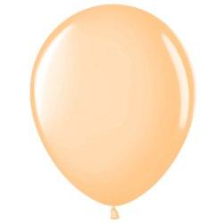 "Латексный шар с гелием ""Бежевый"" 12"" (30 см)"