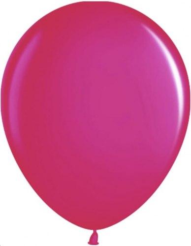 """Латексный шар с гелием """"Ярко-розовый"""" 12"""" (30 см)"""
