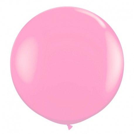 """Латексный шар """"Розовый"""" 27"""" (69 см)"""