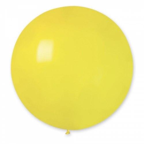 """Латексный шар """"Желтый"""" 27"""" (69 см)"""