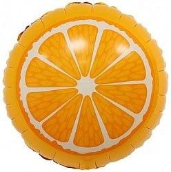 """Фольгированный шар """"Апельсин"""" 18″ (46 см)"""