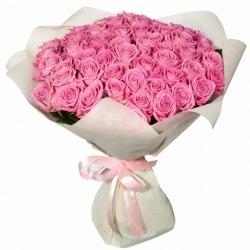 """Букет роз """"Розовое чудо"""" 51 роза"""
