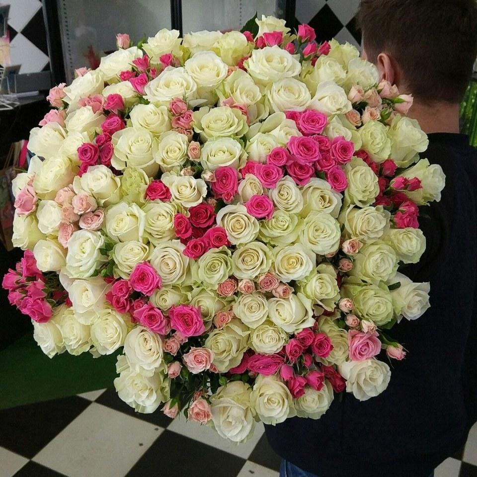 Цветы к 8 марта в Минске