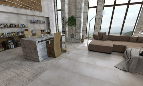 Плитка для пола Golden Tile Concrete 60х60