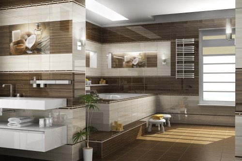 Фриз Golden Tile Wellness бежевый 40х3
