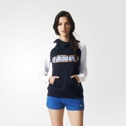 Худи Womens Trefoil Adidas AJ7688