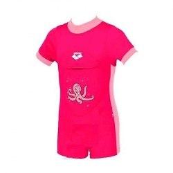 Купальник Arena Kids LEARN TO SWIM SUIT 2 ARENA WOR pink - octopus Arena 95182-90