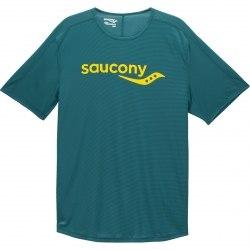 Футболка Saucony SAUCONY SHORT SLEEVE Rainforest Saucony 81173-RFR