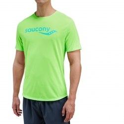 Футболка Saucony SAUCONY SHORT SLEEVE Vizipro Slime Saucony 81173-VPS