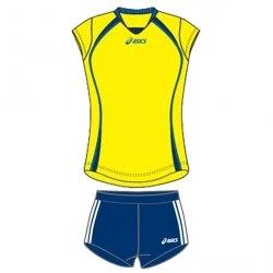 Форма Asics волейбольная Womens Sleeveless Game + Short Lady Asics T204Z1/T205Z1-00QV/0050