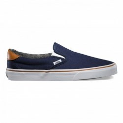 Слипоны Vans Vans Spring 15 U SLIP-ON 59 (C L) dress blu Vans V-4532