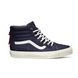 Кеды Vans высокие Vans Winter 15 U SK8-Hi Zip CA (Varsity Stripe Vans V-4568