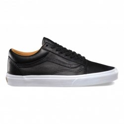 Кеды Vans Mens Vans Winter 16 U OLD SKOOL (LEATHER) BLACK Vans V-4569