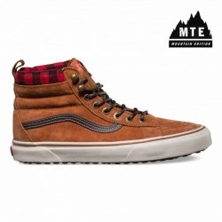 Кеды Vans зимние Mens Vans Winter 16 U SK8-HI MTE (MTE) Glazed Ginger Vans V-4574