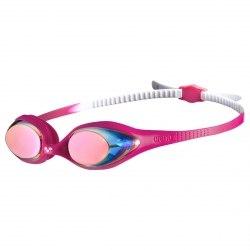 Очки Arena для плавания SPIDER JR MIRROR white,pink,fuchsia Arena 1E362-19