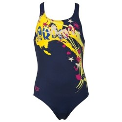 Купальник Arena Kids G DRIZZLE JR ONE PIECE Navy,Multi Arena 1A842-70