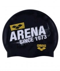Шапочка Arena д/плавания ARENA FORTY black,yellowstar Arena 94017-17