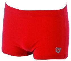 Плавки Arena (Kids) SQUARED SHORT YOUTH red, metallic_silver Arena 21297-45
