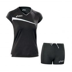 Форма Asics волейбольная Womens Set Pley Off черн Asics T601Z1-9090