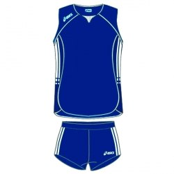 Форма Asics волейбольная Womens (майка+тайтсы) Sleeveless Bagher+Short Lady темн-син Asics T461Z1/T205Z1-0050