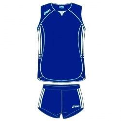 Форма Asics волейбольная Womens (майка+тайтсы) Sleeveless Bagher+Short Lady темн-син Asics T461Z1/T205Z1-0050
