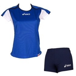 Форма Asics Set Attack темн-син Asics T209Z1-4350