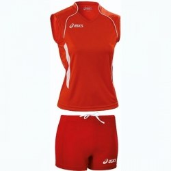 Форма Asics волейбольная Womens красная Asics T544Z1/T542Z1-2601/0026