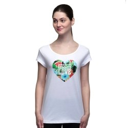 Футболка Womens W Smmr Love Tee Adidas AJ8591 (последний размер)