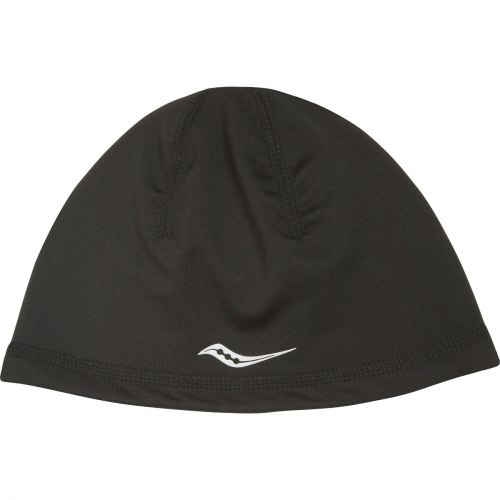 Шапка Saucony Womens для бега OMNI PONYTAIL SKULL CAP (one s Twisted Ropes Print Saucony SA90514-BKP
