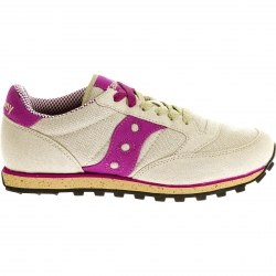 Кроссовки Saucony Womens JAZZ LOWPRO VEGAN Light Grey/Fucshia Saucony 1887-61