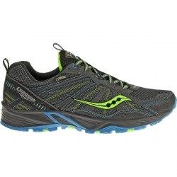 Кроссовки Saucony для бега Mens GRID EXCURSION TR8 GTX Black/Blue/Slime Saucony 25204-1
