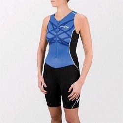 Комбинезон Saucony для триатлона Womens WOMEN'S TRI SUIT pacific Saucony 80592-PCF