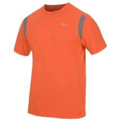Футболка Saucony Mens VELO SHORT SLEEVE atomic orange/element Saucony 80969-ATOELE