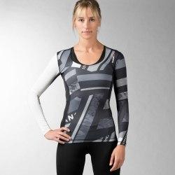 Компрессионная футболка с длинным рукавом Womens ONE Series ACTIVChill Reebok AX8680