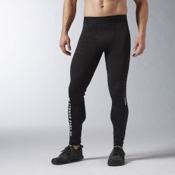 Брюки Reebok OS THRML TIGHT Mens Reebok AX9479