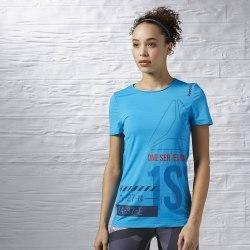 Футболка Womens ONE Series Running ACTIVChill Reebok S94255 (последний размер)