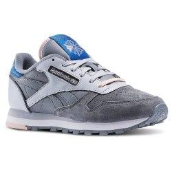Кроссовки Reebok Womens Classic Leather Elevated Basics Reebok AQ9856