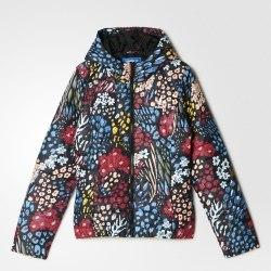 Куртка утепленная Womens Slim Jacket Aop Adidas AY4746