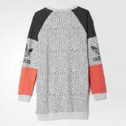 Джемпер J YWF CREW LONG Womens Adidas S96013 (последний размер)