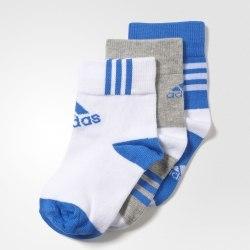 Короткие Adidas Kids носки Lk Ankle 3pp Adidas AY6534