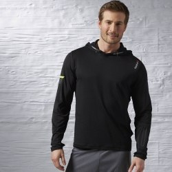 Джемпер Reebok Mens для бега Osr Ls Wool Mix Top Reebok AX9347