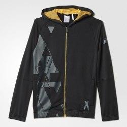 Толстовка Adidas Kids утеплённая Yb Lr T Fz Hood Adidas AK2712