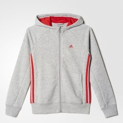 Толстовка ESSENTIALS MID 3-STRIPES HOODIE Kids Adidas AY8312 (последний размер)